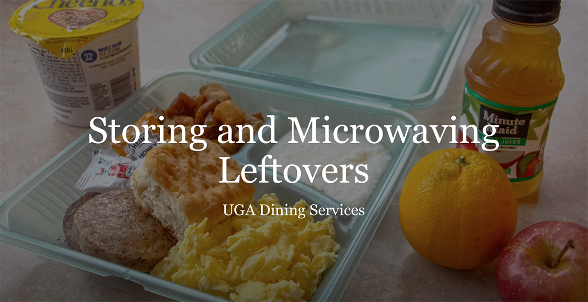 Refrigerating and Microwaving Leftovers