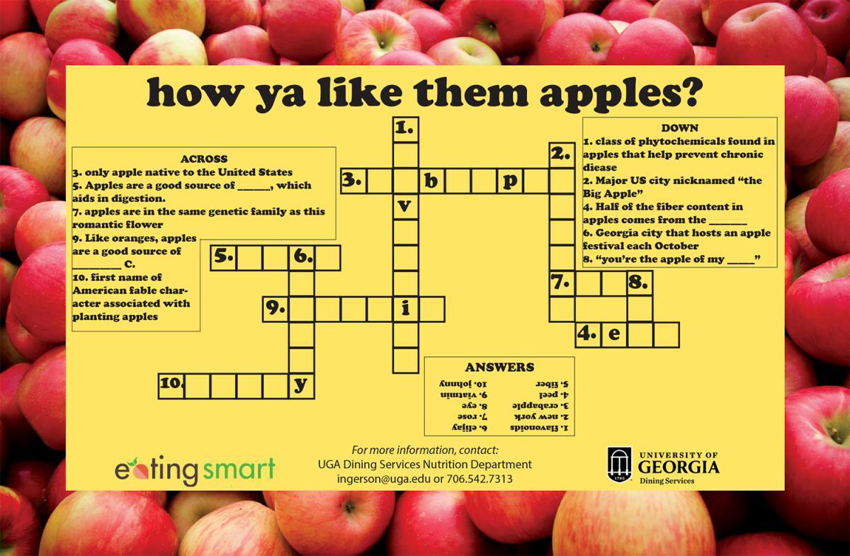 Crossword: How Ya Like Them Apples?